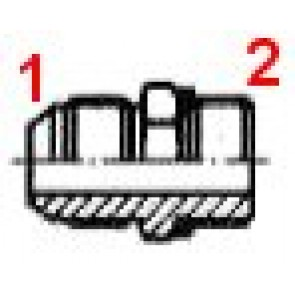 UNION MALE GAZ 9/16J-3/8G