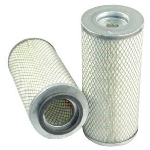 Filtre à air primaire pour moissonneuse-batteuse CASE 1640 moteurCUMMINS  JJ0034706->   6 T 830