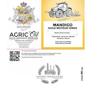Huile moteur 10W40 MANDIGO 5L