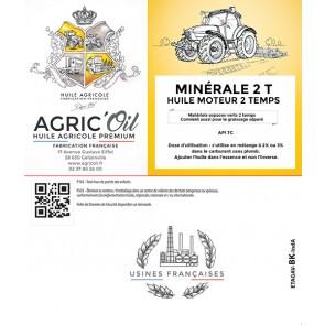 Huile moteur MINERALE 2 TEMPS 25L