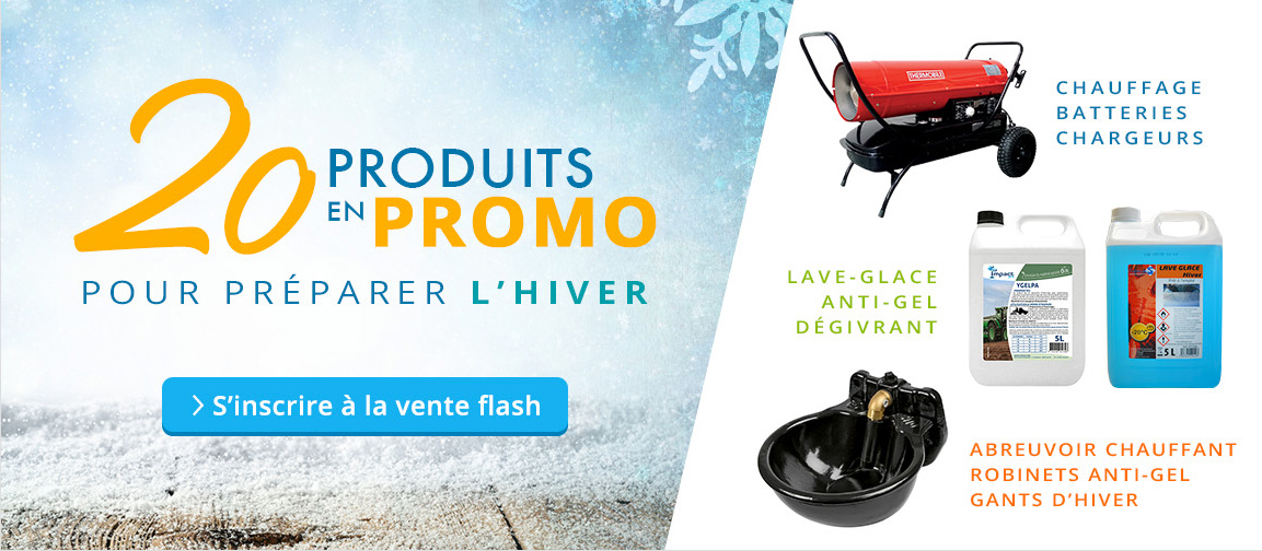 20 produits en promo pour préparer l'hiver