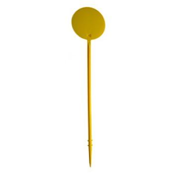 Jalon jaune hauteur 600 mm