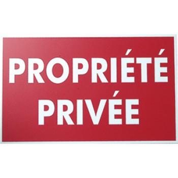 "PANNEAU ""PROPRIETE PRIVEE"" 330200"