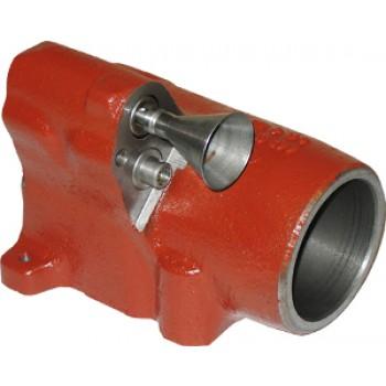 Cylindre de relevage avec piston et valve