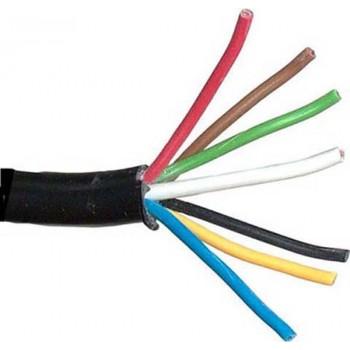 Câble de base 7 (6x1 1x2mm) Câble remorque 10mtr