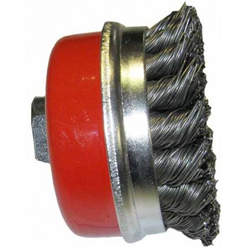 Brosse de fil torsadé en acier