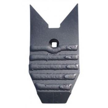 Bec de déchaumeur type Lemken Karat Kris Largeur 120mm Longueur 260mm total