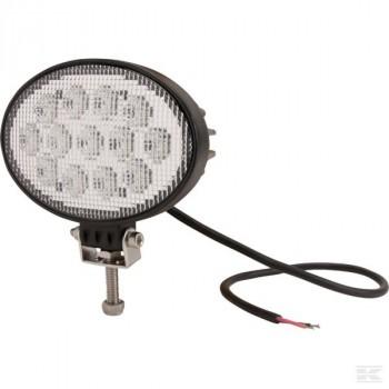 Phare de travail LED ovale 39W