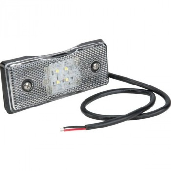 Feu de gabarit LED rectangle blanc