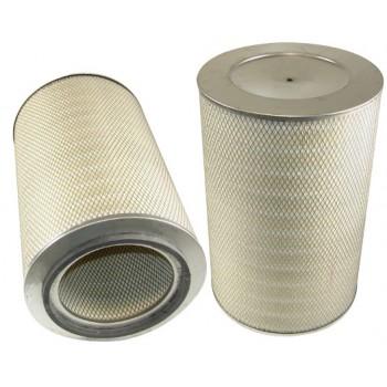 Filtre à air primaire pour moissonneuse-batteuse DEUTZ-FAHR 4068 TOPLINER moteurDEUTZ   240 CH