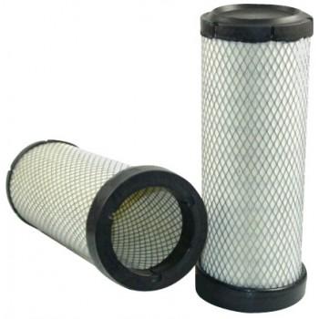 Filtre à air sécurité pour moissonneuse-batteuse CASE 7088 moteurCASE IH 2008->    9 L