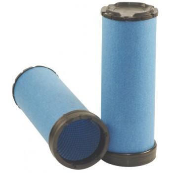 Filtre à air sécurité pour moissonneuse-batteuse JOHN DEERE W 540 C moteurJOHN DEERE 2012->    6068VL