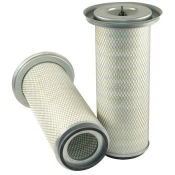 Filtre à air primaire pour moissonneuse-batteuse MASSEY FERGUSON 40 moteurVALMET     311/411/611 DSL