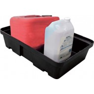 BAC DE RETENTION 20L POLYETHYLENE 60X40X16 SANS CAILLEBOTTIS