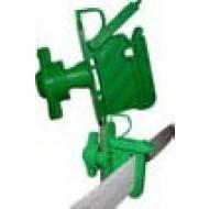 Isolateur VERT sécurisé tous fils et rubans / piquets bois ou bétons (Crebox de 25)
