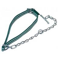 Attache cplète + chaîne verte avec maill