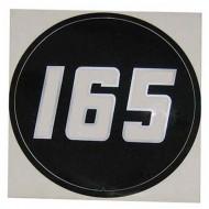 Autocollant en vinyle 165