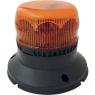 GYROPHARE  LED MERCURA ROTATIF EMBASE PLATE 10-30V ORANGE