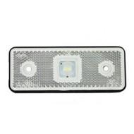 CATADIOPTRE RECTANGULAIRE BLANC 110X41 A LED