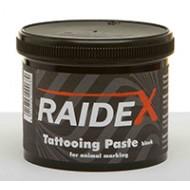 Pâte à tatouer Raidex 600g noire