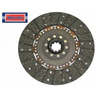 """Disque d'embrayage 11"""" 280 mm principal 10 cannelures David Brown 990 995 1294"""