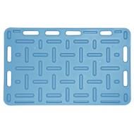 Plaque à porc bleu 94x76 cm
