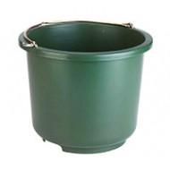 Seau d'écurie vert 12 litres