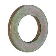 Rondelle plate Zinc lourd 7/16 ''plaqué