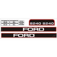 Sticker Kit Ford 8240 - Jusqu'à 96