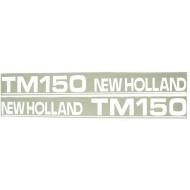 Autocollant New Holland TM150 - type ancien