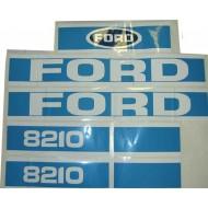 Kit Autocollant Ford 8210