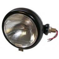 Tête de lampe noire droite 40/45W