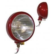 Phare avant rouge 12V 40/45 Watt