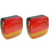 Feu de freinage LED rouge 3 Fonctions - Paquet de 2
