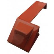 Garde-boue G pour mousse de cabine CASE IH 1055 XL, 1255 XL, 1455 XL, 955 XL