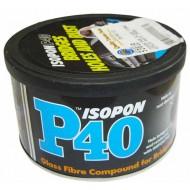 Réparation de fibre de verre Coller Isopon P40 250ml