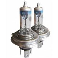LAMPE 12V 55W H4 Halogen 120% Pair