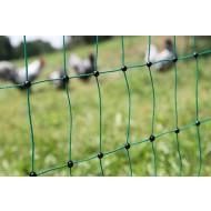 Filet volailles électrifiable 112 cm, simple pointe, 25 m de long