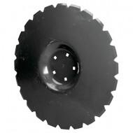 Disque herse crénelé 560 mm 5 trous