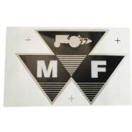 Autocollant triangulaire Massey Ferguson Grand
