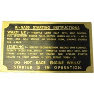 Badge Tracteur Ki-Gass partir d'instructions