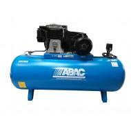 Compresseur bi-cylindre bi-étagé à courroie 500L/54M2/7,5CV/3KW/11B/TRIPHASE