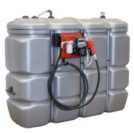 CUVE STOCKAGE FUEL PEHD DP 2000L STATION