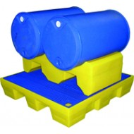 SUPPORT GERBABLE 2 FUTS 200L 124X58X38CM