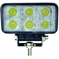 FEU 6 LEDS 18W 60°RECT. 110/55 12/24V (B