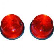 FEU DE POSITION ROND Diamètre 75mm couleur rouge