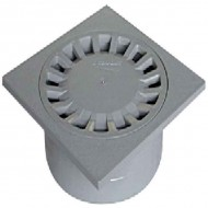 SIPHON DE COUR ABS 200/63X80X100 GRIS