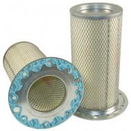 Filtre à air sécurité pour chargeur CATERPILLAR 966 C/D moteur CATERPILLAR