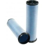 Filtre à air sécurité pour moissonneuse-batteuse DEUTZ-FAHR 6090 HTS moteurDEUTZ 2013 TCD 7.8L6