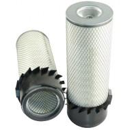 Filtre à air primaire pour tractopelle FIAT HITACHI FB 90 moteur FORD